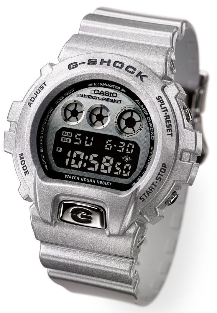 30th Anniversary Ltd. Ed. @Casi Oechsner #GShock. #Silver #Dopeness