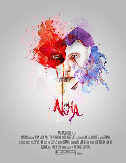 The paint-diffusion style looks very nice on this movie poster.