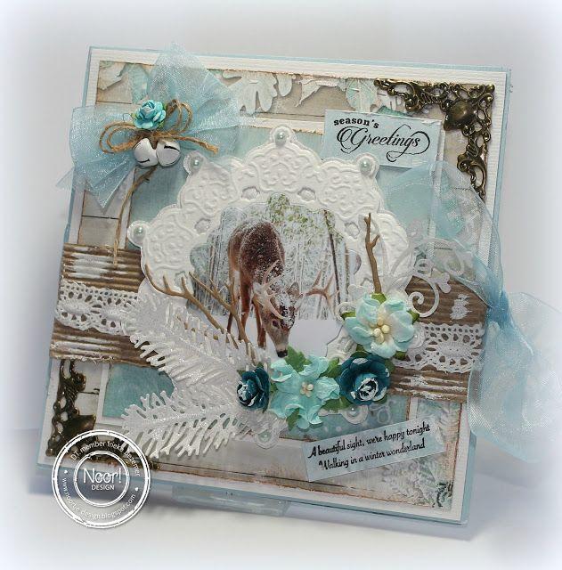 """Ineke""""s Creations: White x-mas dream"""