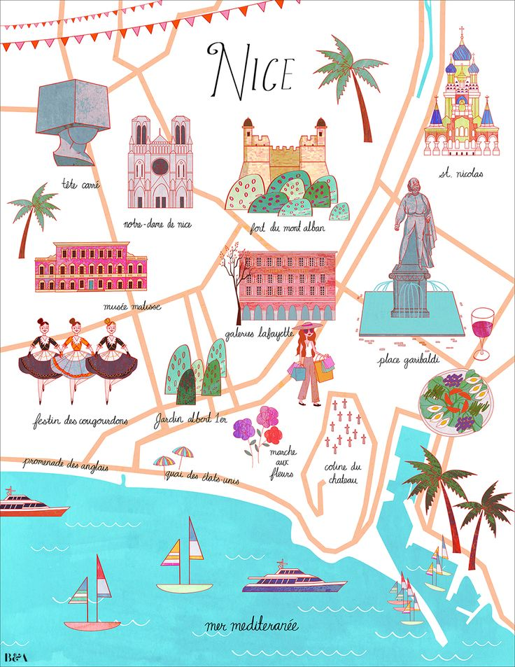 Josie Portillo - Map of Nice