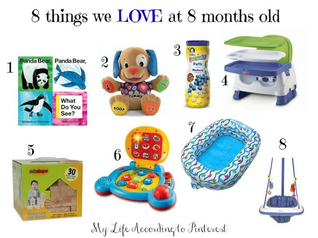 8 Things We Love At Months Old