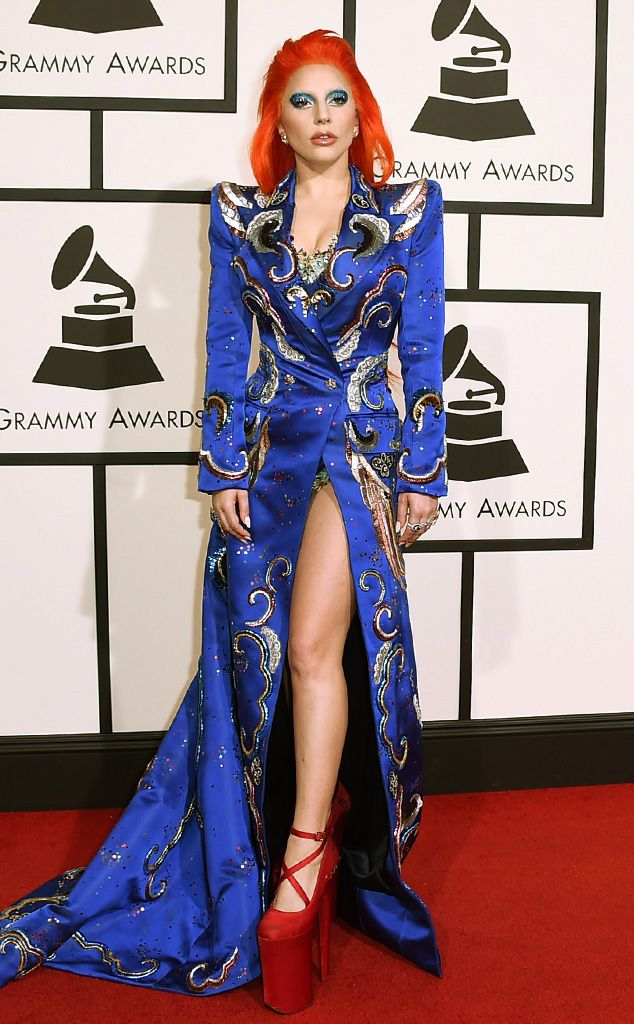 Lady Gaga from Grammys 2016: Red Carpet Arrivals