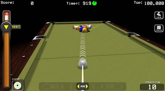 Aim-n-Aider Pool - Fantasic Online Pool Game