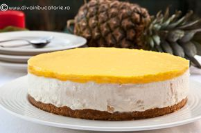 CHEESECAKE CU ANANAS | Diva in bucatarie