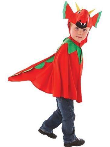 Friendly Dragon - Child Costume front