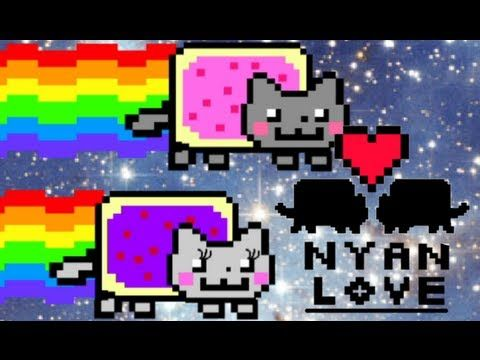 ▶ Nyan Cat falls in love!! - YouTube Still a better love story than twillight