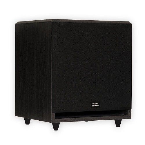 Home Theater Subwoofer 12 Audio Black Inch Powered Sound Speaker Surround System #SystemAudio