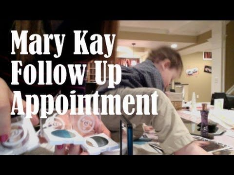 What TO DO: Mary Kay Follow Up Appointment!