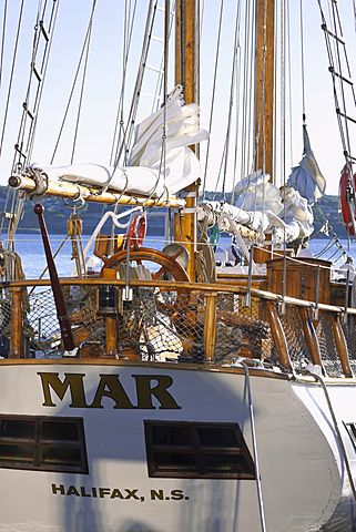 Sailing boat mar at Halifax Regional Municipality, Nova Scotia, Canada