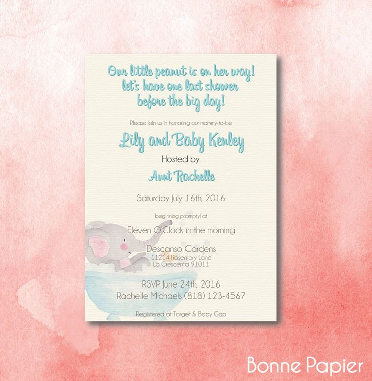 baby shower invitation wording for bringing diapers%0A Little Peanut Tan  x  DIY Printable Baby Shower by BonnePapier