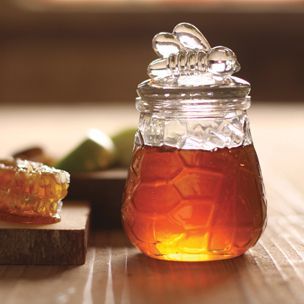 Bee Sugar & Honey Jar | Rain Collection