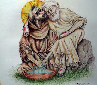 Catequese do Papa : visitar um doente é um ótimo remédio. Na Audiência Geral desta quarta-feira (09/11) do Papa Francisco foi dedicada a duas obras de misericórdia corporais.