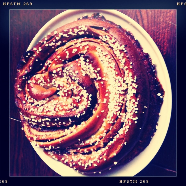Cinnamon buns in Haga - Sweden´s biggest?