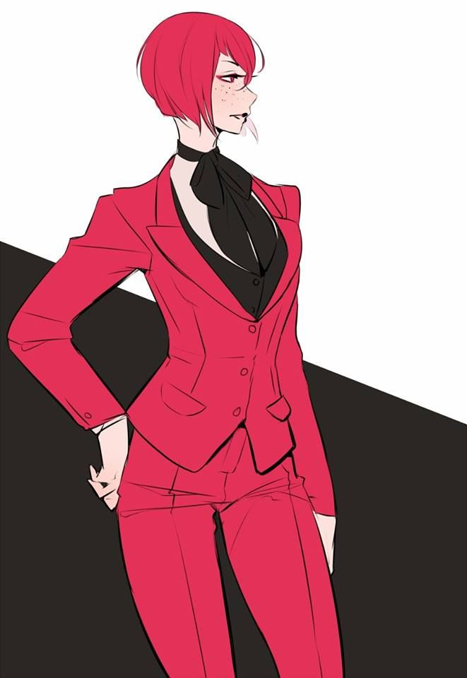 Black butler madam red funeral dress
