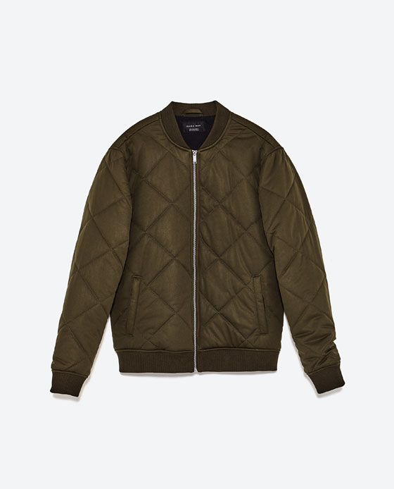 Image 8 of PUFFER BOMBER JACKET from Zara