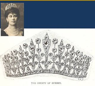 Königliche Juwelen: Surrey Frings Tiara
