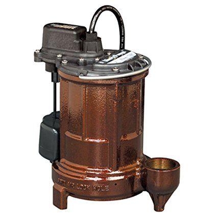 Liberty Pumps 250 Manual 1/3 HP Cast Iron Submersible Sump/Effluent Pump
