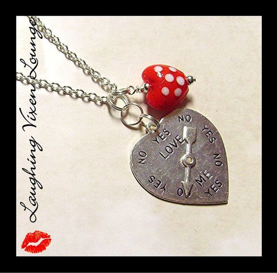 Valentine Jewelry  Valentine Necklace  by LaughingVixenLounge, $18.00: Valentine'S Day, Awesome Giveaways, Awesome Prizes, Valentines Day, Strange Dazed, Prizes Packaging, Valentines Necklaces, Valentines Jewelry, Jewelry Valentines