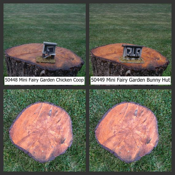 Miniature Garden Buildings Chicken Coop By MinivilleJunction