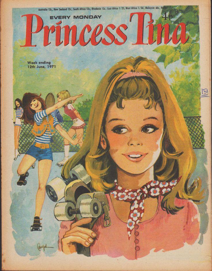 Princess Tina Magazine 12 June 1971 Judas Jump