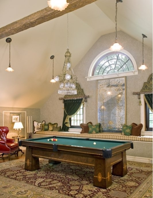 Pool Table Room Decorating Ideas great idea for pictures on wall by pool table at ks home Gentlemans Billiard Room Home And Garden Design Ideas