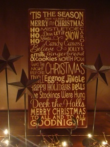 wholesale jewelry lots Christmas wooden signs
