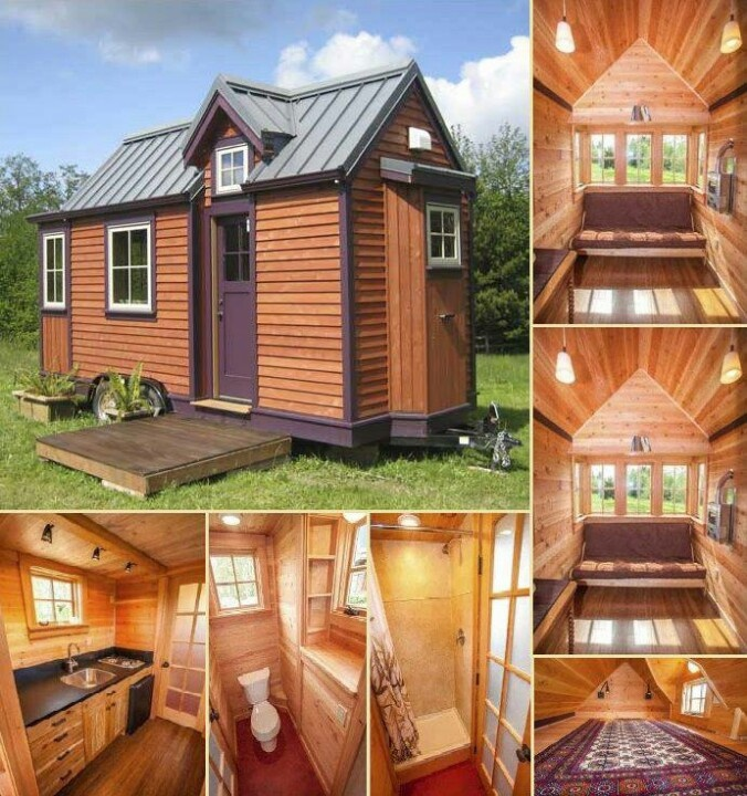 Tiny house can be affixed to as trailer or secured to a for Tiny homes on foundations
