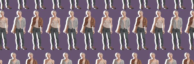 elena fisher header pattern