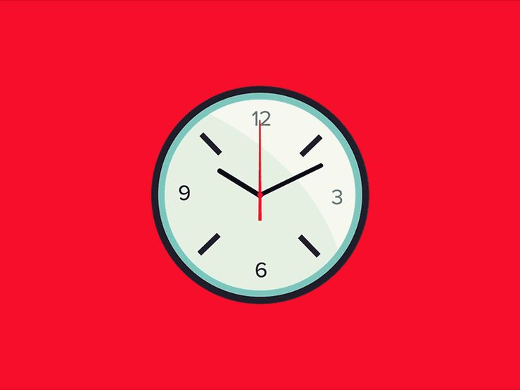 Graphic Design Clock