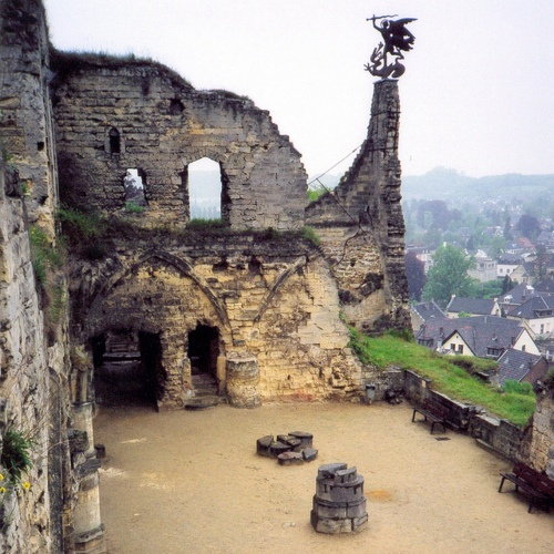 Valkenburg - Medieval Castle In Moma's home town!!