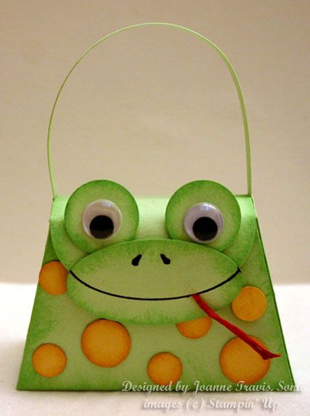 Petite Purse Frog by sleepyinseattle - Cards and Paper Crafts at Splitcoaststampers