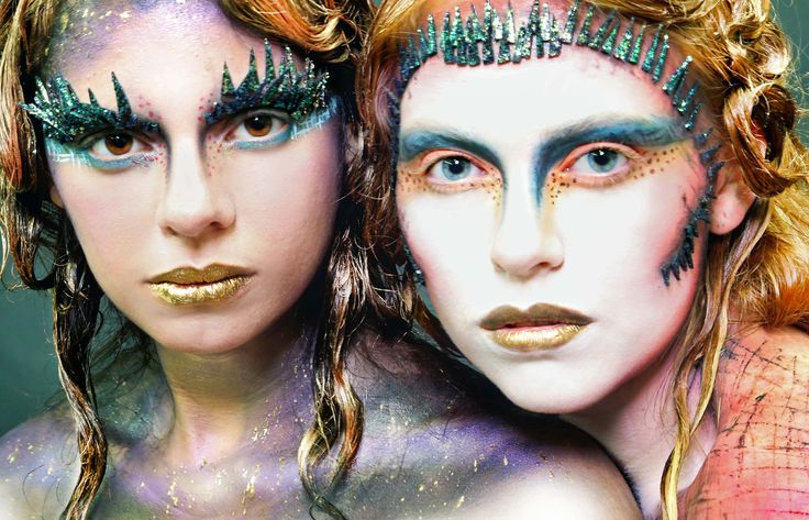 Makeup Artist: Jillian Sara Models: Corrina Schader and Nikki Richards Photographer: Jillian Sara  #Makeup #MUA #MakeupArtist  #MakeupSchool #TheMakeupImaginarium #Photography #Modeling #JillianSara #Fantasy #Art #Creativity