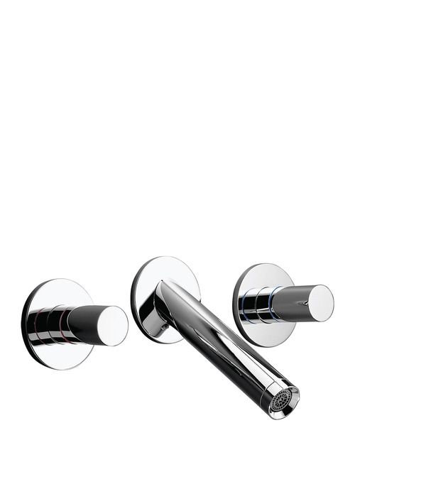 Axor Starck Washbasin mixers: two-handle, chrome, Item No. 10313000