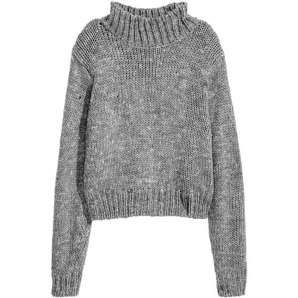 Turtleneck jumper ($32) ❤ liked on Polyvore featuring tops, sweaters, turtle neck jumper, ribbed turtleneck sweaters, turtle neck ribbed top, turtleneck tops and polo neck sweater
