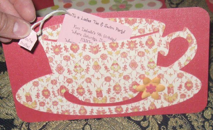 Tea Cup Invite - make it a bit cuter...  http://1.bp.blogspot.com/_9jWf-OP4_Ek/TB2uuOvhnbI/AAAAAAAACyg/E7ObmNR14ns/s1600/TEA%2BCUP%2BINVITE.jpg