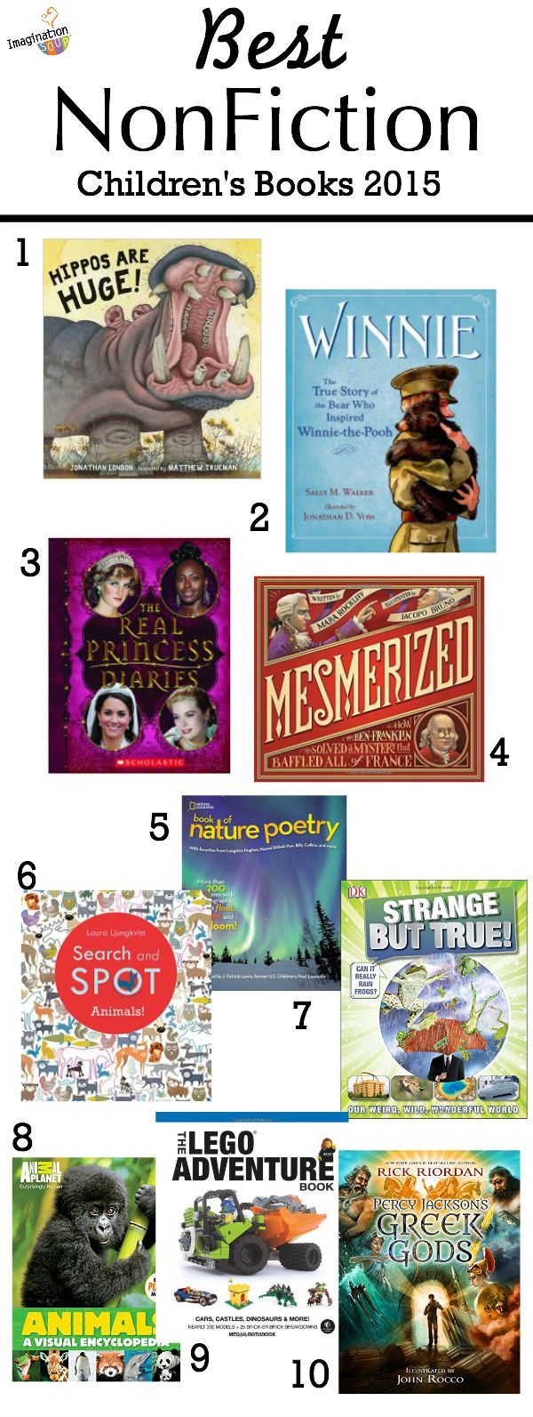 great holiday gift ideas -- Best Nonfiction Children's Books 2015