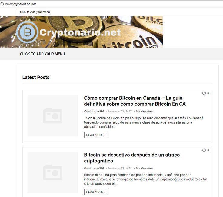 Cryptonario.net es el sitio web de asesoría financiera más nuevo en criptodivisa y noticias relacionadas con monedas.