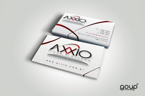 Cartão de visita - Axxio