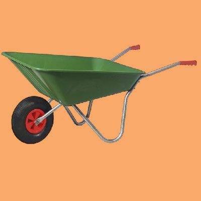 Save your back this spring with a rugged plastic wheelbarrow that's lighter than steel and won't rust, says TOH Landscaped Contractor Roger Cook.