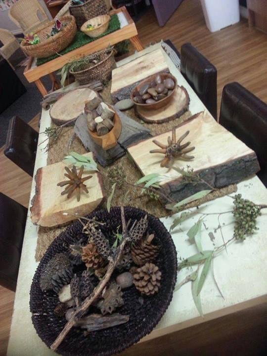 """Beautiful setting of natural products - image shared by Choices Family Daycare ("""",)"""
