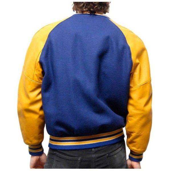 Style for Mens Varsity jacket | Youth Varsity Treats (¥17,865) ❤ liked on Polyvore featuring men's fashion, men's clothing, men's outerwear, men's jackets, mens sports jacket, mens sport jackets and mens baseball jackets