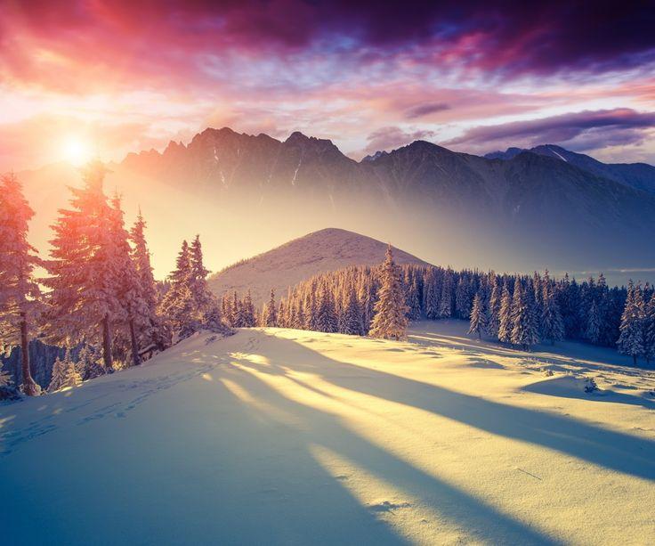 #snow #moutain #beutiful