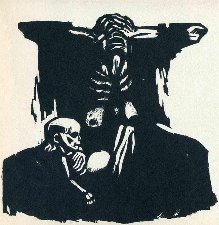 Kathe Kollwitz - Hunger, 1923