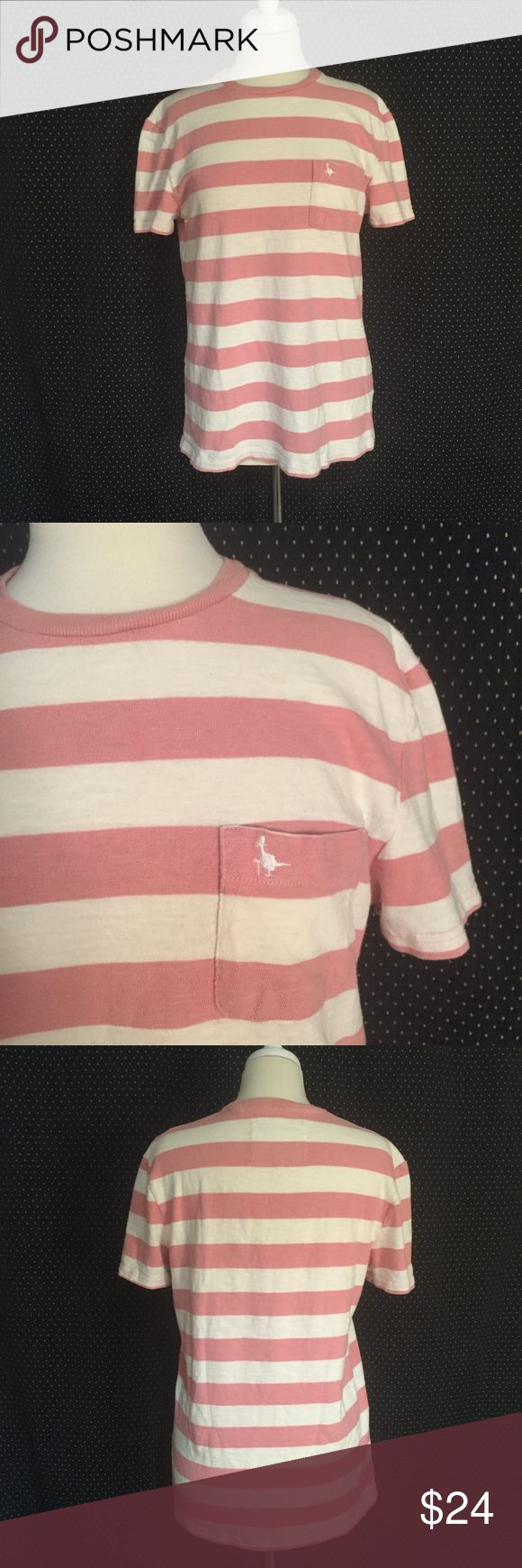 "Jack Wills Cotton T-Shirt Size S Brand: Jack Wills Size: S Description: Raw cotton look pocket T; some wear from washing Condition: Good Fabric: 100% cotton Bust: 40"" Length: 27.5"" Item #1503 Bundle Discount Available! Reasonable offers welcome! No trades please.. Thanks for stopping by!! #Poshmark #Poshmarkapp #Poshmarkcloset Jack Wills Shirts Tees - Short Sleeve"
