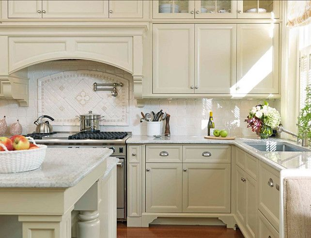 charming Painting Kitchen Cabinets Off White #4: 1000+ ideas about Off White Kitchens on Pinterest | White kitchen cabinets, White cabinets and Off white kitchen cabinets