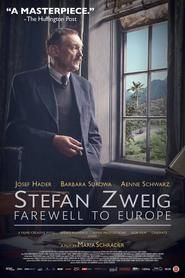 Watch Stefan Zweig: Farewell to Europe full movie
