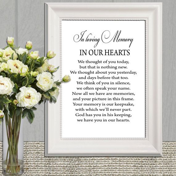 The 25 Best Wedding Memorial Table Ideas On Pinterest To Remember Loved Ones Memory And Remembering Who Ped