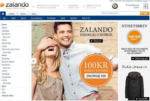 Zalando - Nettbutikken for deg som er glad i klær, sko og mote!