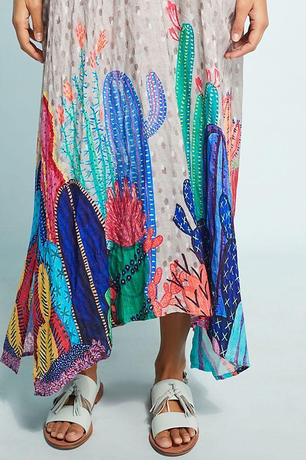 0a8b59e19f Valena Cactus Maxi Dress   Stuff to buy   Dresses, Fashion, Cactus