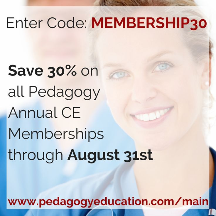 Continuing education coupon codes
